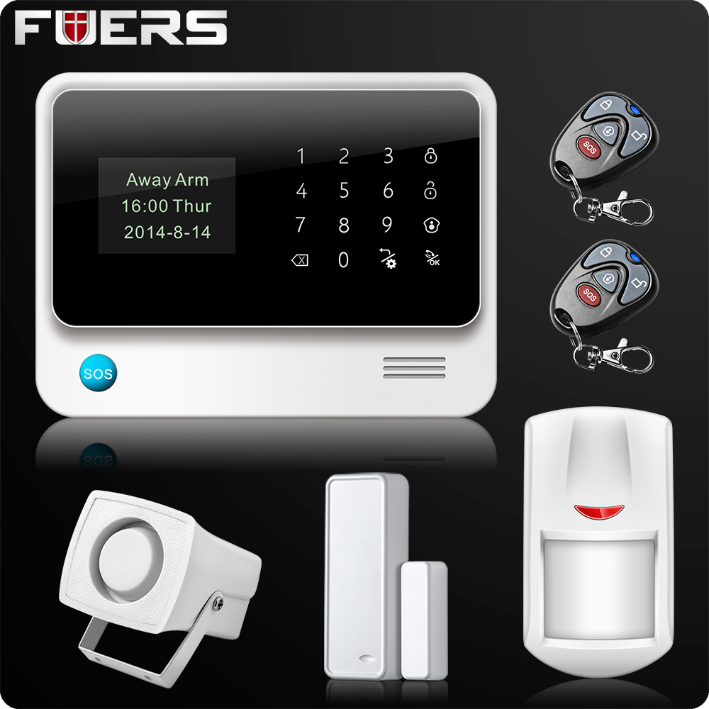 Image 3 - G90B 2.4G WiFi GSM GPRS SMS Wireless Home Security Alarm System IOS Android APP Remote Control Detector Sensor-in Alarm System Kits from Security & Protection