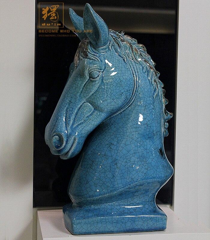 Online kopen wholesale keramische paard uit china keramische paard groothandel - Interieur decoratie volwassen kamer ...