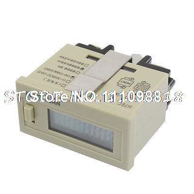 DC 24V Reset Time Accumulator LCD Display 0 - 9999h59m Counter H7ET-BVMDC 24V Reset Time Accumulator LCD Display 0 - 9999h59m Counter H7ET-BVM
