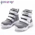 Princepard 2019 ортопедическая спортивная обувь для мальчиков и девочек, сетчатая и верхняя подкладка, профессиональные ортопедические стельки, кроссовки для детей - 5