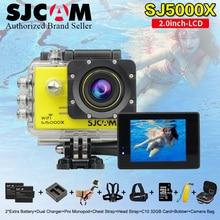 SJCAM SJ5000X Элитный WiFi 4 К 24fps 2K30fps Гироскопа Спорт DV 2.0 ЖК NTK96660 Дайвинг 30 м Водонепроницаемая Камера sj 5000 x cam