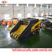 KK Factory Cheap Car Combo Commercial Bouncer Inflatables With Slide