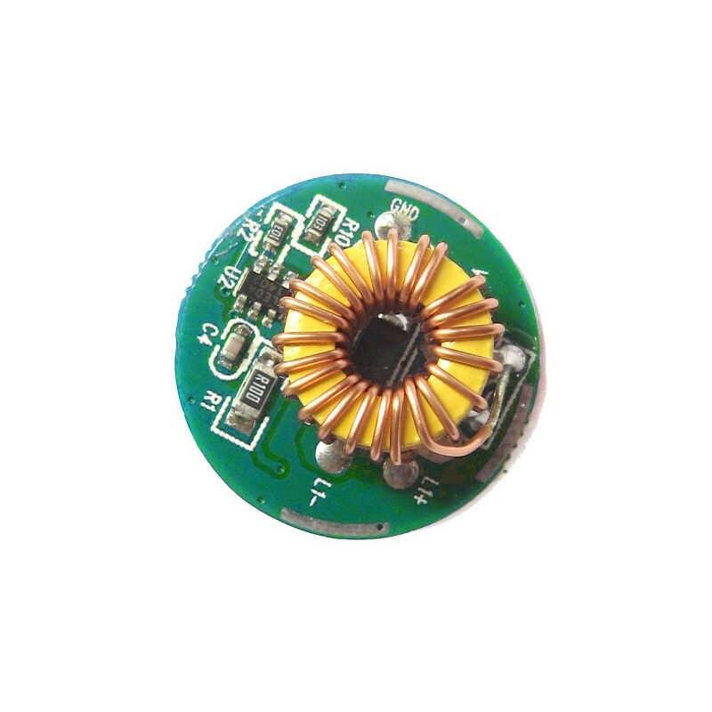 1 Режим/3 Режим Вход 3,7 V ~ работающего на постоянном токе 12 В в 20 мм светодиодный драйвер для кри-10 Вт T6 XML T6/U2 XM-L2/U2 светодиодный фонарик или 12 V Батарея Автомобильный свет