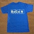 Periodic Table - Chemistry Of Bacon Big Bang Theory T Shirt Novelty Funny Tshirt Mens Clothing Short Sleeve Camisetas T-shirt