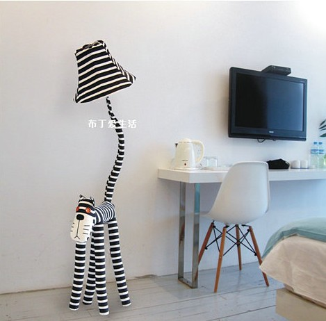 Christmas Gift Funny!! Cat Lamp Dimmable Childrens Bedroom Lighting  Animal Toy Lamp Kids Cartoon Floor Lamps For Living Room