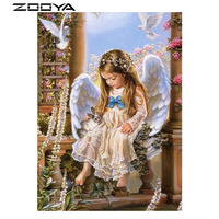 Square Diamond Painting Complete Drill 5D Painting Whole Picture Drill Diamond Needlework Embroidery People Cross Stitch
