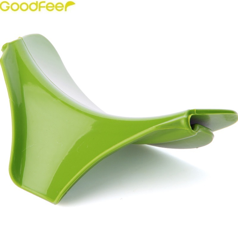 Goodfeer New Coming Creative Kitchen Gadgets Pour Soup Anti-spill and Leak Soup Deflector Useful Home Kitchen Specialty Tools