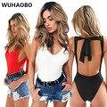 4 Colores de Encaje Sin Espalda Up Body 2017 Playsuit Monos Sexy Para Las Mujeres Del Verano Del Vendaje de Bodycon del Mono de Las Mujeres