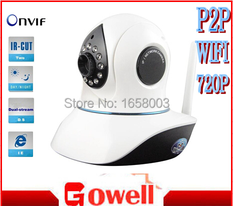 baby monitor home security surveillance PT ip camera Vstarcom HD 720P WIFI two way audio font