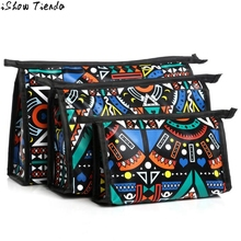 Xiniu Cosmetic Bags 3 Pcs/ Set Owl Printing Women Zipper Makeup Pouch Beauty Box Estojo De Maquiagem #2912