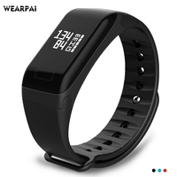 Wearpai WP103 Blood Pressure Heart Rate Monitor Smart Bracelet Fitness Tracker Step Counter Activity Monitor Smart