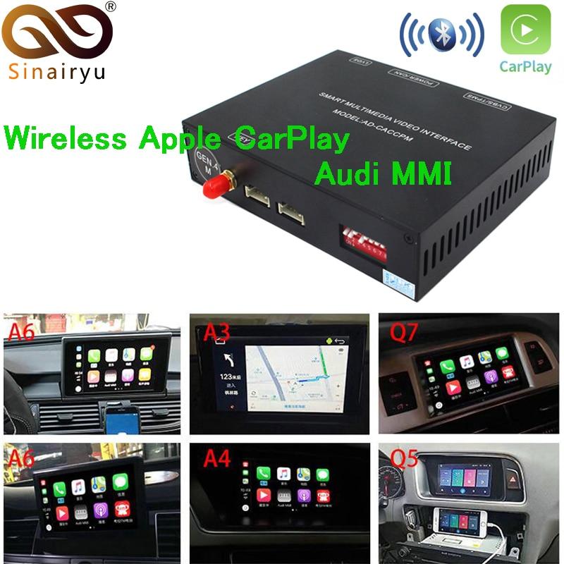 Detail Feedback Questions About 2019 Ios Car Le Airplay Android Auto Wireless Carplay Box For Audi A3 A4 A5 A6 Q3 Q5 Q7 Original Screen Upgrade Mmi