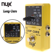 NUX Loop Core Violao Guitar Electric Effect Pedal / Durable Guitarra Effect Pedal 6Hours Recording Time Guitar Parts Accessories