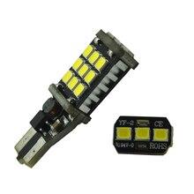 10 Pcs T15 W16W LEVOU Luz Reversa Lâmpadas 920 921 912 Canbus 2835 21SMD LED Destaque Lâmpadas Luz de Estacionamento de Backup 12 V
