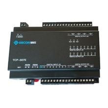 Módulo de relé de 8DO con salida 8DI, entrada de interruptor RJ45, Puerto TCP Ethernet IO, controlador Modbus