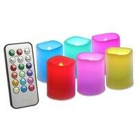 Светодиодные свечи с пультом ДУ