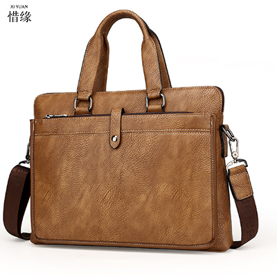 2017 Men Casual Briefcase Business Shoulder real Leather Bag Men Messenger Bags Computer Laptop Handbag Bag Men's bolsa de ombro vintage crossbody bag military canvas shoulder bags men messenger bag men casual handbag tote business briefcase for computer