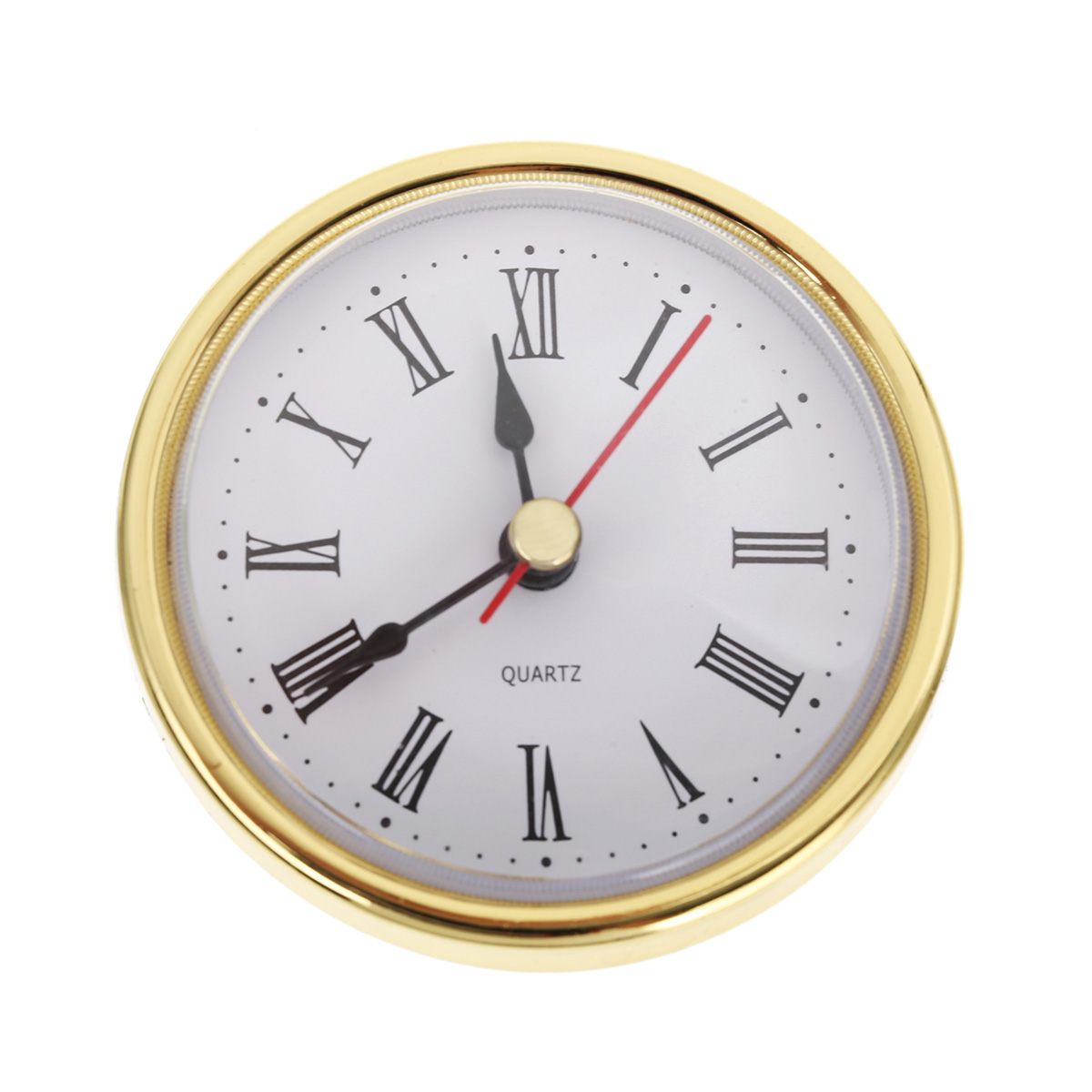 """10 Stücke Mayitr Runde Wanduhr Kopf 2-1/2 """"(65mm) Diy Uhr Quarz Bewegung Einfügen Römische Ziffer Werkzeuge Home Decor Ein BrüLlender Handel"""