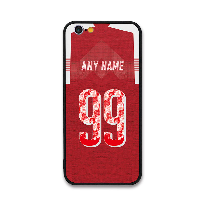 new product 2caf6 27fb3 US $2.39 20% OFF|European Football Ozil BELLERIN AUBAMEYANG RAMSEY IWOBI  MUSTAFI Jersey style Arsenal case for Apple iPhone 8 Plus Phones cases-in  ...