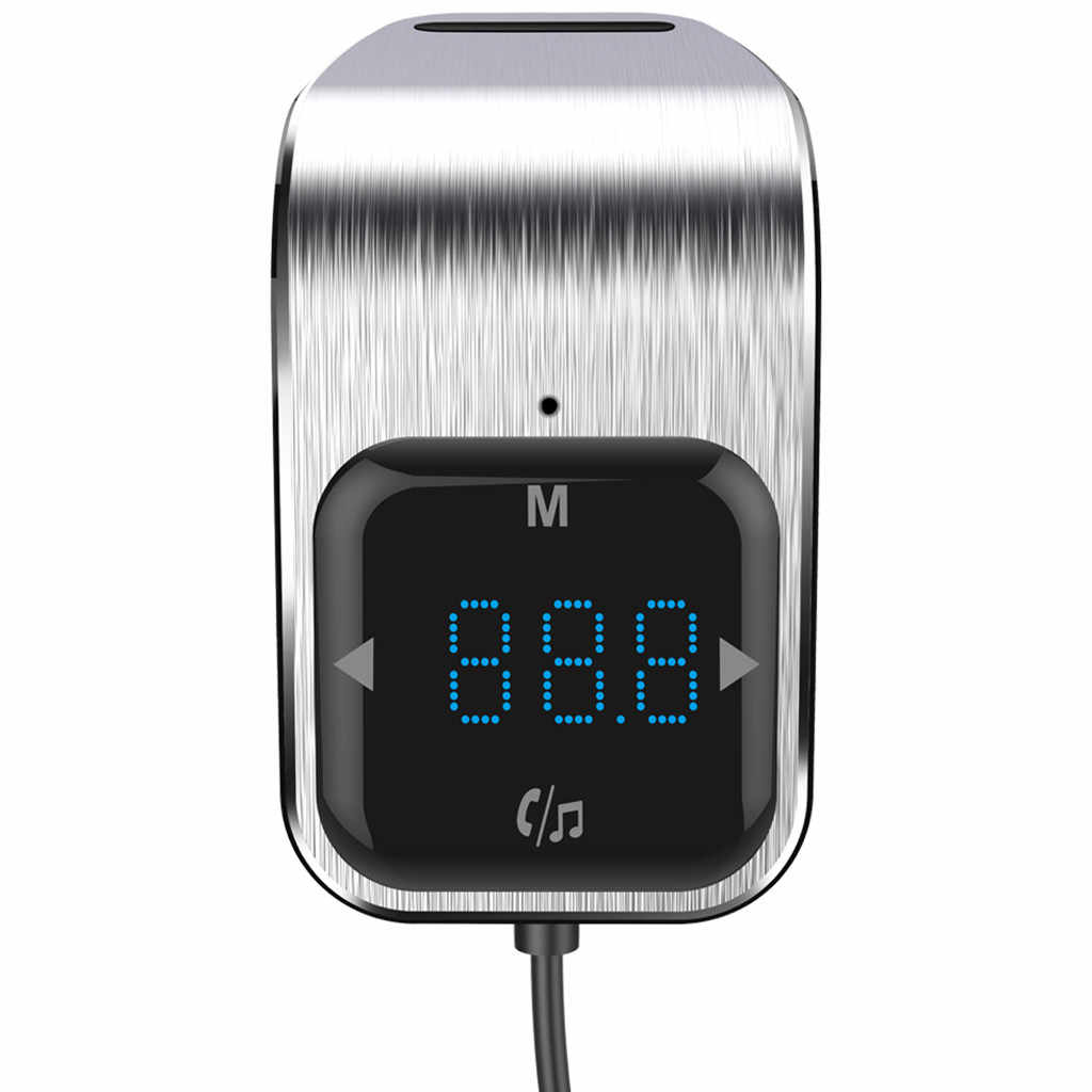 Drahtlose Bluetooth FM Transmitter Auto Kit LED Digital Display Bluetooth MP3 Player Dual Port USB Ladegerät Auto Launcher