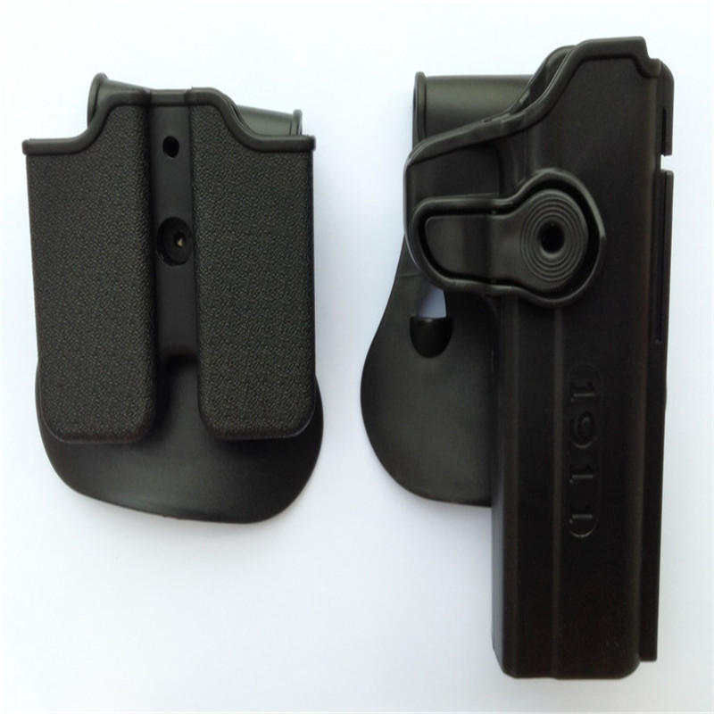 IMI Style Colt for 1911 Rotatable Holsters + The Bullet magazine Black Color image