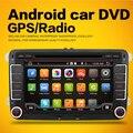 Tela capacitiva! dois Din 7 de Polegada de Dvd Do Carro Para A Seat/Altea/Leon/Toledo/VW/Skoda Wi-fi 3G Anfitrião FM Rádio GPS Bt 1080 P Mapa
