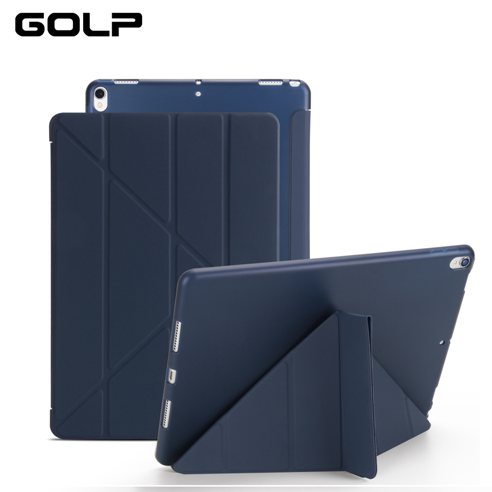 PU Leather Case For iPad Pro 10.5 inch 2017 Ultra Thin Smart Cover Case For New iPad Pro 10.5 Soft Case Silicon Cases +protector new luxury ultra slim silk tpu smart case for ipad pro 9 7 soft silicone case pu leather cover stand for ipad air 3 ipad 7 a71
