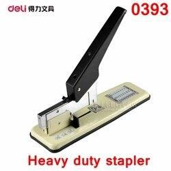 Deli 0393 fournisseur de bureau agrafeuse robuste pour 15-210 papiers/70g papier avec 23/6-23/25 agrafage au détail