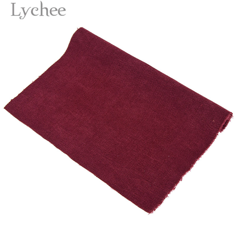 Lychee A4 Embossed Stripes Velvet Fabric Soft Sewing Fabric for Hair Accessories DIY Sewing Crafts Materials 8