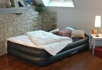 INTEX роскошный встроенный Подушка двукратное увеличение надувные матрасы двойной airbed увеличение коврик 66720