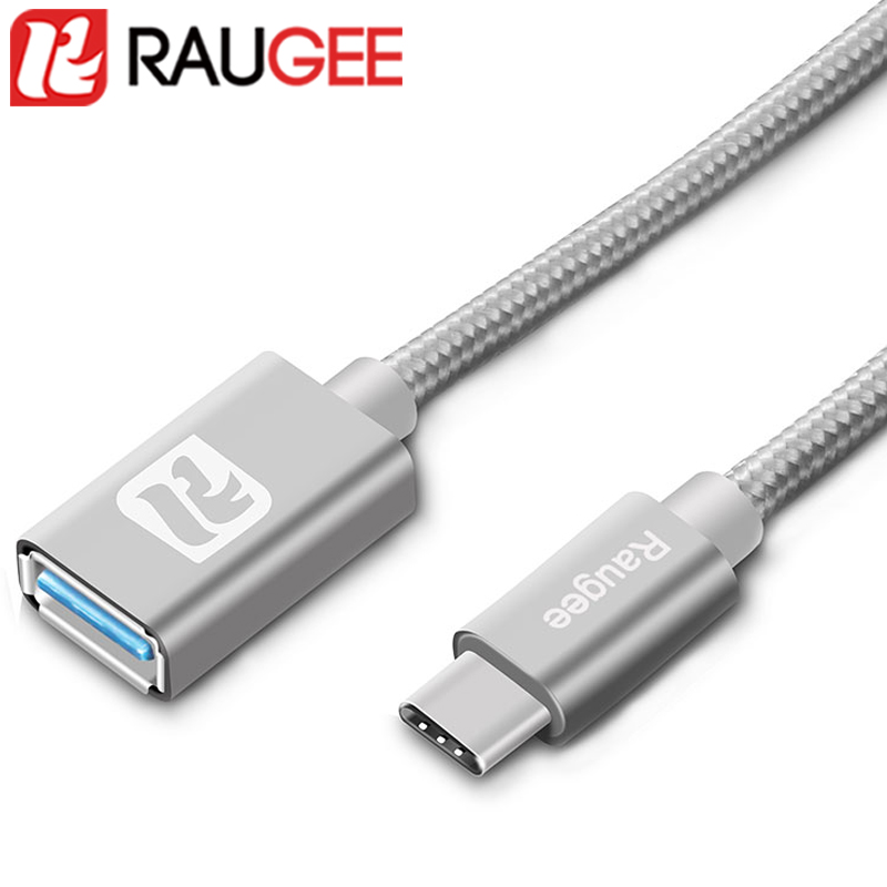 Type-C USB OTG Cable For OnePlus 6 3 3T 5 5T Xiaomi Mi 6 5 USB3.0 Type-C OTG Adaptor Date Cable For UMI Super/Leagoo S8 Pro