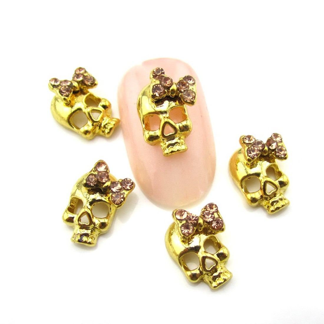 10 Pieces Nail Rhinestone Taro Nail Patch Crystal Shiny 3D Jewel Manicure Manicure Ornaments Trinkets Manicure Decorative Nail