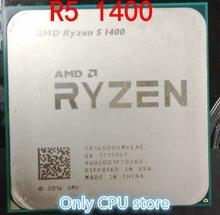 AMD Ryzen 5 1400 3.2 GHz Quad-Core CPU Processor YD1400BBM4KAE Socket AM4