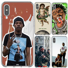 Lil Baby & Gunna Rapper Silicone TPU Back Cover Phone Case For iPhone X SE 5 5s 6 6s plus 7 7Plus 8 8 Plus XS MAX XR x(China)