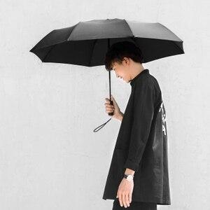Image 4 - Oryginalny Xiaomi Mijia automatyczny słoneczny deszczowy aluminiowy wiatroszczelny wodoodporny UV mężczyzna i kobieta lato zima