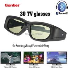 Gonbes 3D TV Glasses Bluetooth for Samsung&3D HDTV&Sony&Panasonic&Sharp Oculos gift Gafas Virtual Reality Goole 3D Smart Glass