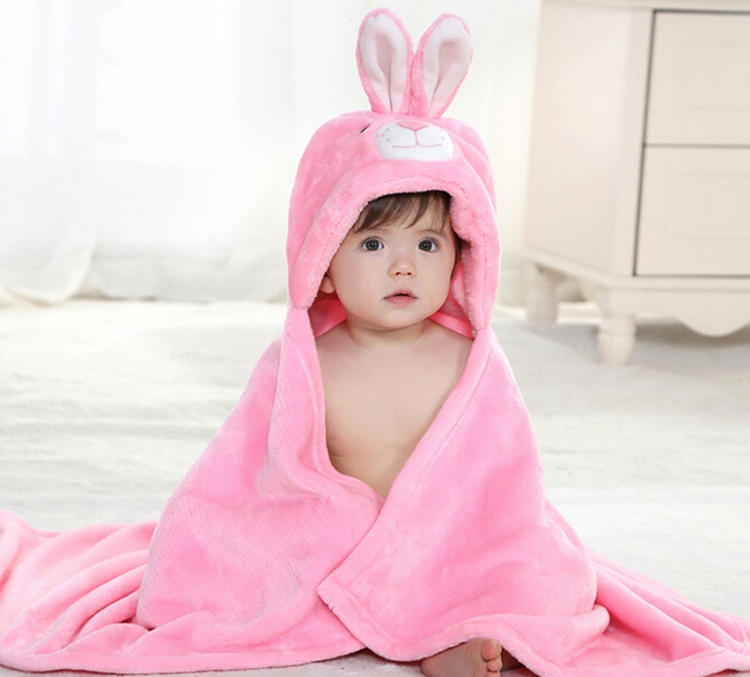 Cute Baby Blanket Newborn Baby Wrap Swaddling Animals Duck Panda