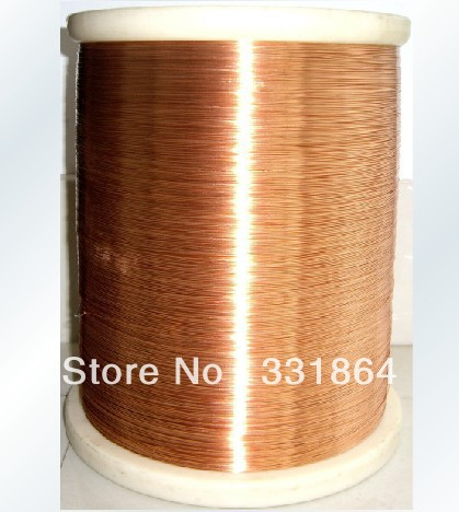 0.5mm diameter 100 meter / PC QA-1-155 2UEW polyurethane enameled copper wire Free Shipping free shipping 0 35mm 500m qa 1 155 polyurethane enameled wire copper wire enameled repair cable