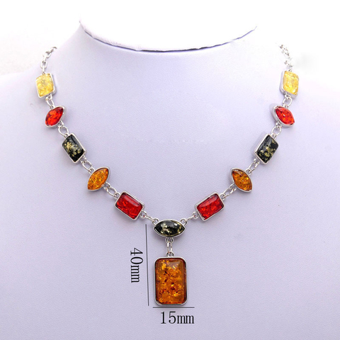 2018 Vintage African Beads Jewelry Sets for Women Fashion Silver Color Square Charms Necklace Earrings Wedding Jewelry Sets Gift Multan