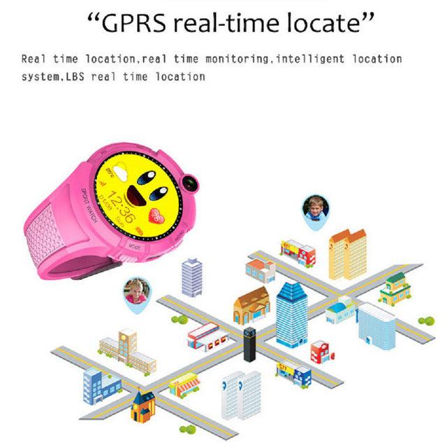 Q360 Kids Smart Watch with Camera GPS WIFI Location Child smartwatch SOS Tracker Anti-Lost Monitor baby WristWatch PK Y1 Clock