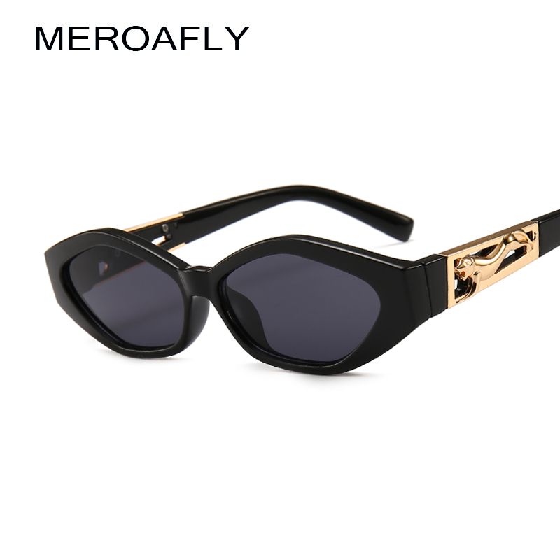 MEROAFLY Small Rectangle Sunglasses Women 2019 Brand Design