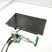 lcd controller board support HDMI+VGA +audio driver 15.6 inch LCD kits with 1920*1080,300 cd