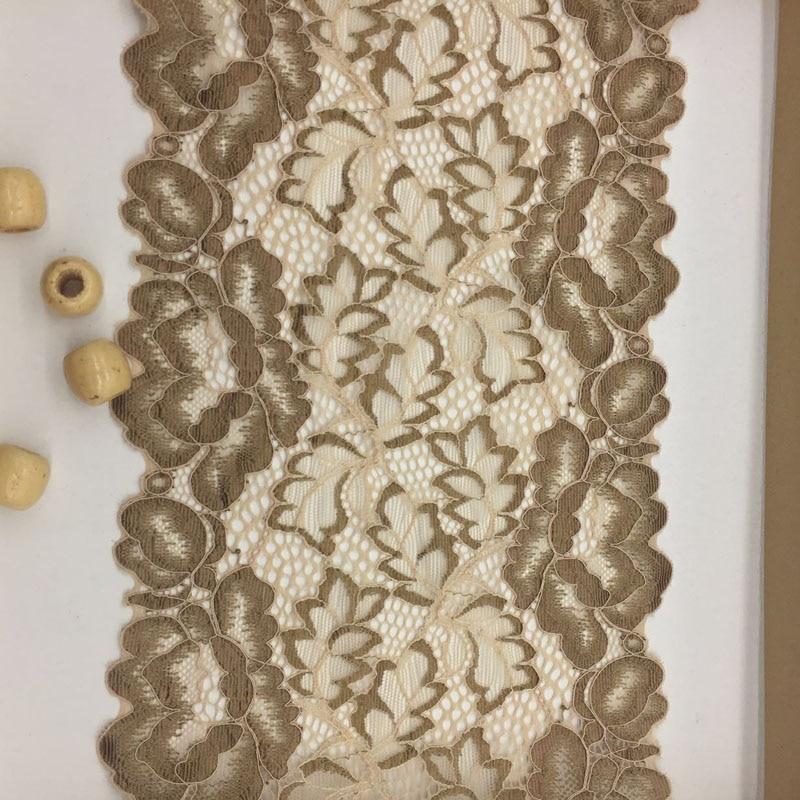 c4d3ed73c072 De encaje elástico cinta de tela manualidades DIY suministros de costura  accesorios de decoración