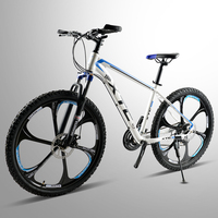 Bicycle running leopard, mountain bike, 26 inches, aluminium alloy frame, 21 speed, bicycle, double disc brake, road bike, racin