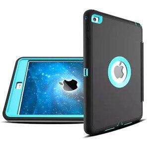 Image 4 - Для Apple iPad 2 ipad 3 ipad 4 Retina защита для детей противоударный сверхпрочный силиконовый Жесткий чехол с защитной пленкой для экрана