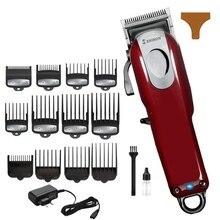 3a8554c73 Homem máquina de cortar cabelo elétrica máquina de corte de cabelo corte de  cabelo profissional barbeiro