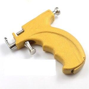 Image 3 - المهنية الفولاذ المقاوم للصدأ الأذن ثقب بندقية أداة مع قلم تحديد مرآة صغيرة لا ألم سلامة أقراط أداة ثقب الأذن الجسم