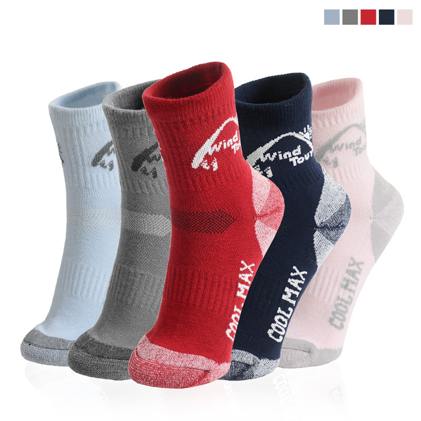 Mens Winter Warm CoolMax Socks Outdoor Sports Thermal Breathable Cycling Hiking Climbing Skiing Camping Womens Stocking VK013