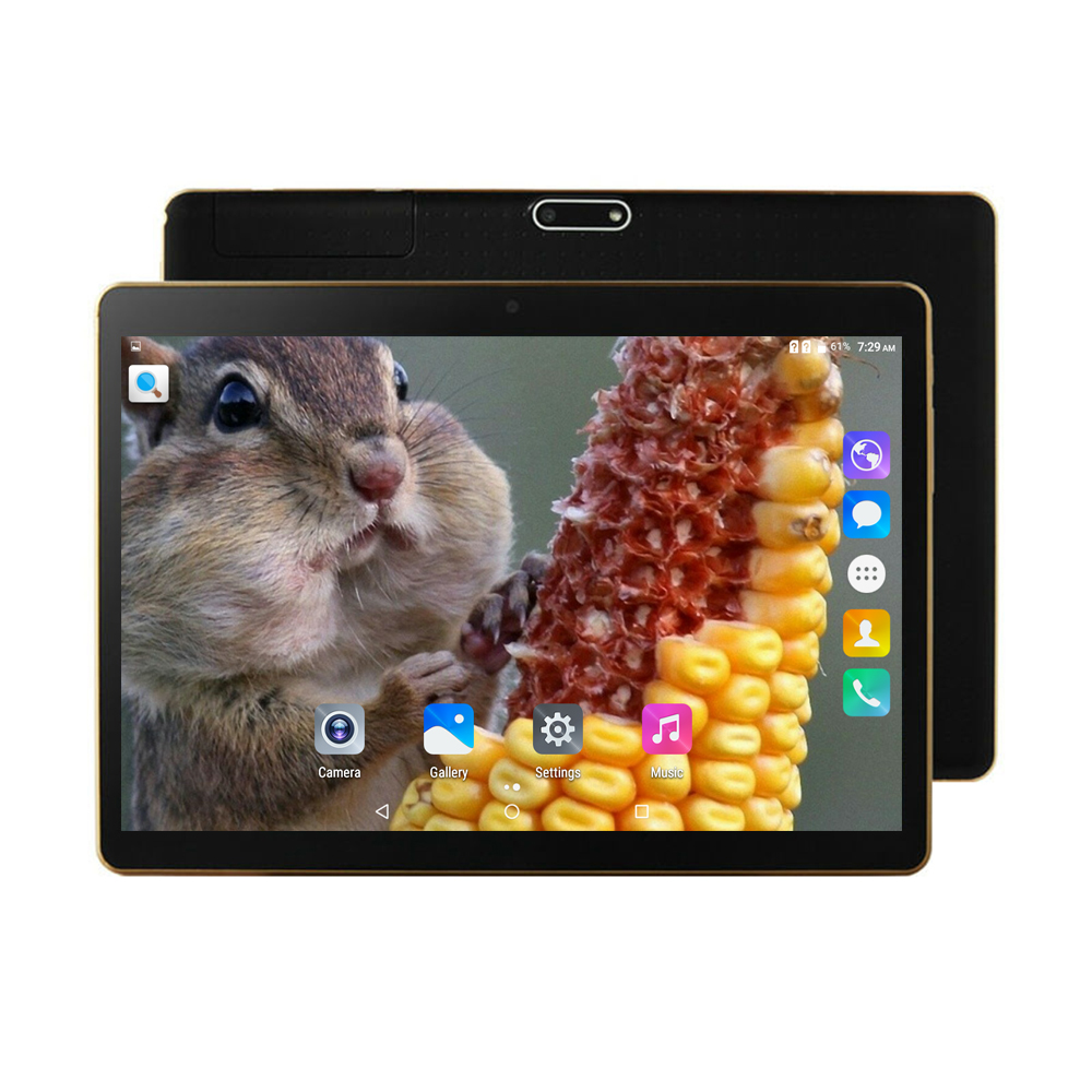 9.6 inch 1280x800 IPS Screen android Octa Core CPU MTK 8752 2GB RAM 16GB ROM GPS Wifi learning pc Dual Sim 3G tablet for kids