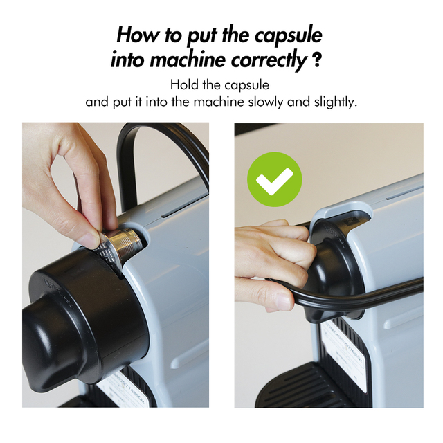 Nespresso Refillable Capsule Coffee Filters